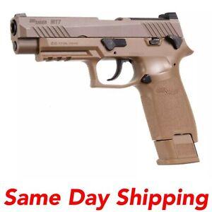Sig Sauer M17 P320 ASP CO2 Pellet Tan Air Pistol, .177 Cal Gun AIR-M17-177