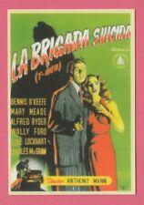 2008 Spanish Pocket Calendar #221 T-Men Film Poster Dennis O'Keefe