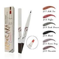 Tattoo Eyebrow Pen Long-lasting Waterproof Brow Gel for Eyes Makeup 6 Colors
