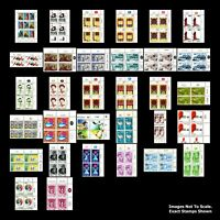 130+ Israel Postage Stamps Collection / MNH /Israeli Stamps, Blocks & Tabs / #1a