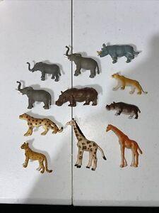 African Safari Figures Lot