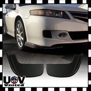 Universal Carbon Fiber Bumper Winglet Lip Side Skirt Splitter Canard Diffuser U1