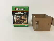 brand new star wars prototype ewoks ewok catapult box +inserts