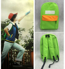Anime Pokemon Go Ash Ketchum Cosplay Backpack School Bag Bookbag Pocket Monster