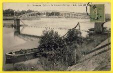 CPA Ecrite en 1920 Vue RARE France 42 - ROANNE (Loire) Le Nouveau BARRAGE