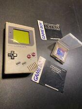 Nintendo GameBoy - Konsole #grau Classic 1989 DMG-01 + Tetris RARE