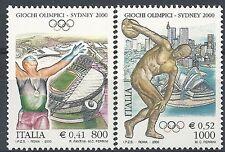 2000 ITALIA GIOCHI OLIMPICI DI SYDNEY MNH **