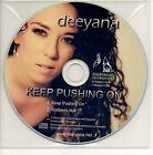 (419D) Deeyana, Keep Pushing On - DJ CD