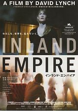Inland Empire - Original Japanese Chirashi Mini Poster - David Lynch