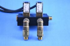 Burkert 0201 Hydraulic / Pneumatic Gas Solenoid Valve 2bar 6Vdc 4W Nbr