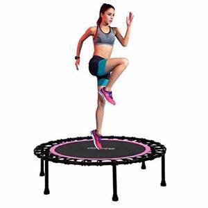 "Newan 40"" Silent Mini Trampoline Fitness Trampoline Bungee Rebounder Jumping ..."