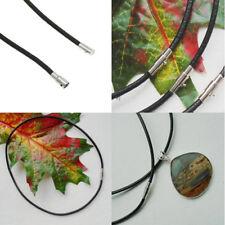 1 Stück Schmuckband, Halsband, Halskette, schwarz, Magnetverschluss