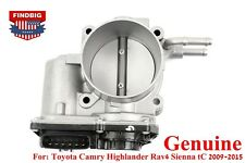GENUINE Throttle Body 220300V010 For Toyota Camry Highlander Rav4 Sienna tC