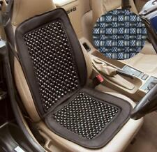 Black Wooden Bead Beaded Massage Massaging Car Taxi Seat Cover Cushion