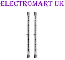 2 X 300W TUNGSTEN HALOGEN DOUBLE ENDED LAMP BULB 118MM