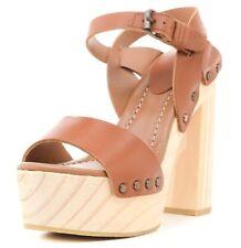 Femmes Chaussures à MNG MANGO beige Taille Uk4 Neuf Livraison gratuite