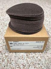 """3M 50 Ct Pack 5"""" Sanding Disks. 20887 248D. (50 Disks) - New"""