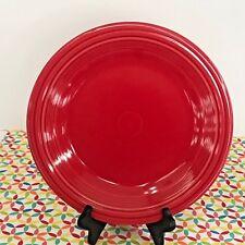 Fiestaware Scarlet Dinner Plate Fiesta Red 10.5 inch Plate