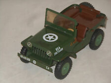 WILLYS USA JEEP - 70èr JAHRE - VINTAGE TINTOY - ITES - 1:24 - 17,5 cm