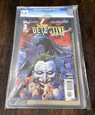 Detective Comics #1 New 52 CGC 9.8 DF CoA Dynamic Forces 2011 1st Print Batman