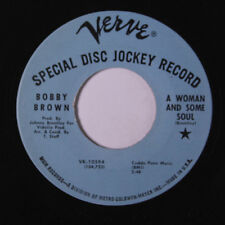 BOBBY BROWN: A Woman And Some Soul / Why 45 (dj) Funk