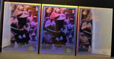 LOT (3) 1991 Upper Deck Heroes HH1 HANK AARON Atlanta Braves HOLOGRAM Cards