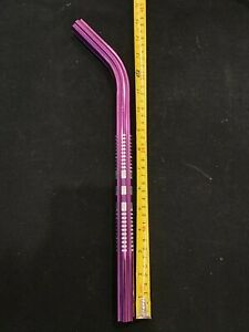 """Old school BMX bicycle 400mm seatpost fluted 22.2mm 7/8"""" PURPLE"""