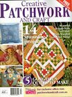 CREATIVE PATCHWORK & CRAFT VOL 2 NO 3. MAGAZINE.2013. PATTERN SHEETS ATTACHED.
