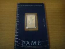 2.5 Gram PAMP Rosa Silver Bar - Brand New