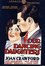 Our Dancing Daughters (2010, DVD NIEUW) BW/DVD-R