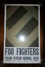 FOO FIGHTERS Official HATCH SHOW PRINT Spokane 2017 Tour Poster Lithograph Grohl