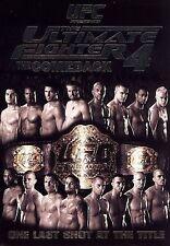 Ultimate Fighter - Season 4 THE COMEBACK  (DVD, 2007)