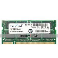 2GB 4GB PC2-5300s DDR2 667MHZ 200Pin CL5 SDRAM para Mac MacBook iMac MacBook Pro