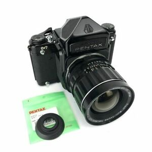 [EXC+5] PENTAX 6x7 Eye Level Camera SMC Takumar F/4.5 75mm Lens /JAPAN F/S