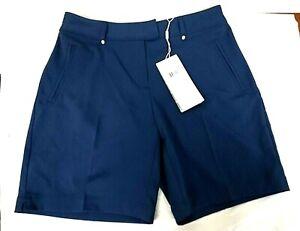 $50 NEW Lady Hagen Women's Golf Core Short, Navy, Size 0 - 0J_57