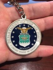 Air Force Spouse Challenge Coin Key Chain.
