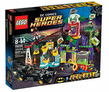 Lego 76035 Super Heroes Jokerland open box not mint Complete Set Sealed Bags