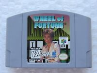 Wheel of Fortune Nintendo 64 N64 Authentic Trivia Video Game OEM Rare HTF GREAT!