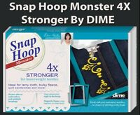 Snap Hoop Monster Magnetic Embroidery Hoop 150x400mm RM3 for Bernina 750-880