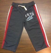 NIKE Boys Sweatpants, size 2/2T  Basketball 1972 Charcoal Red White
