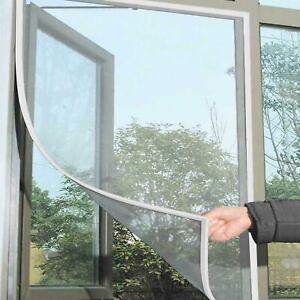 WINDOW SCREEN MESH NET FLY WHITE INSECT BUG MOSQUITO MOTH DOOR NETTING NEW