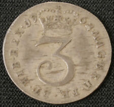 More details for gb threepence 1762 king george iii (f1501)