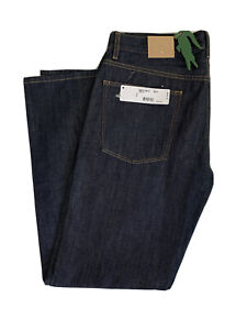 LACOSTE MADE IN FRANCE HH851R DEVANLAY CASUAL FIT DENIM JEANS 34X32 5 POCKET