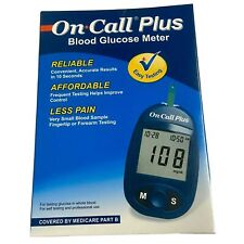 On-Call-Plus Blood Glucose Meter Home Self Monitor Glucose Meter NEW