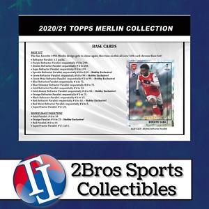 2021 Topps Merlin UEFA 12 Hobby Box Case Break 7/25 1pm CST - Atalanta BC