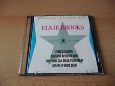 Single CD Elkie Brooks - Pearl`s A Singer & Nights in white Satin - 1988