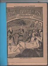 José MOSELLI. Le Roi des Boxeurs. Série complète n°136 bis à 333. SPE 1928/1932