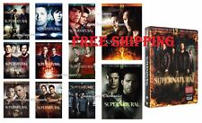 NEW Supernatural-Complete Series 1~12 Seasons 1 2 3 4 5 6 7 8 9 10 11 12 DVD SET
