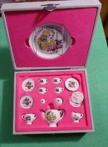 Mattel Barbie1984  25th Anniversary Commemorative Tea Set - Japan