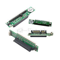 "HDD Drive 44Pin 2.5"" IDE Male/Female to 7+15pin M/F SATA Adapter Converter Card"